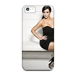 AAW26312zEmz Cases Skin Protector For Iphone 5c Kim Kardashian With Nice Appearance