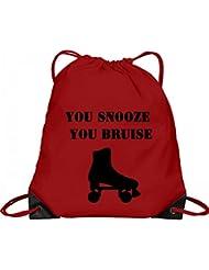 Snooze N Bruise Derby Bag: Port & Company Drawstring Bag