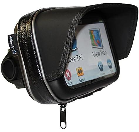 RiderMount Sunshade - Funda para GPS con Soporte para Manillar (12 ...