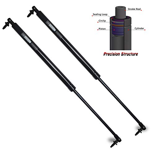 Beneges 2PCs Liftgate Lift Supports Compatible with 2001-2008 Chrysler PT Cruiser Rear Hatch Tailgate Gas Charged Springs Struts Shocks Dampers 04589630AA, SG214024 ()