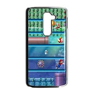 LG G2 Cell Phone Case Black Mario Shelves Y8J1LG