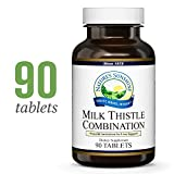Nature's Sunshine Milk Thistle Combination, 90 Tablets | Natural Liver Support Supplement with Milk Thistle Seed, Silymarin, N-Acetyl Cysteine, and Dandelion Root Extract