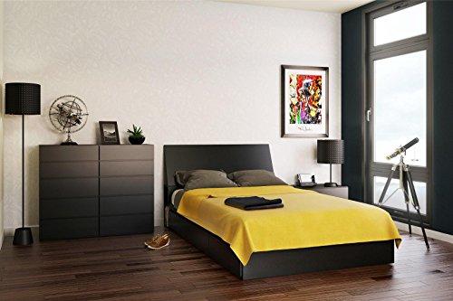 Avenue Full Size Storage Bed 225406 from Nexera, Black