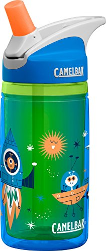 CamelBak eddy Kids Insulated Bottle, Blue Rockets, 12oz (The Best Bottle Rocket Designs)