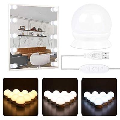 G25 LED Vanity Light Bulb 40W Globe Bulb Equivalent, Round Bathroom Makeup Light Bulb