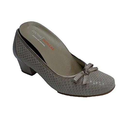 Milieu Semelle Boucle Amovible Manoletina Chaussure Talon Beig Cutillas De La Femme Doctor En Type Intérieure avwfzqx7