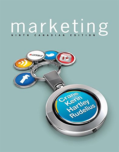 marketing 9th canadian edition crane kerin hartley rudelius pdf