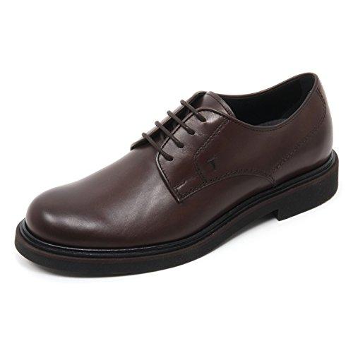 Man Scarpa Shoe Derby Marrone Scuro Uomo allacciate Marrone Tod's Scuro Scarpe Classica B7281 UwBnqpv