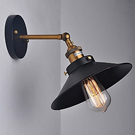 kiven industrial wall sconce edison vintage wall light antique aged steel antique wall sconce lamp
