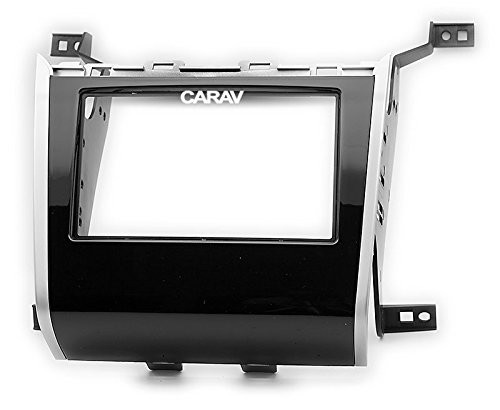Carav 11-713 Car Stereo Radio installation frame Double Din in Dash Facia Fascia Kit for NISSAN Pathfinder (R52) 2013+ with 17398mm/178100mm/178102mm by CARAV