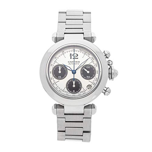 Cartier Pasha Mechanical (Automatic) Silver Dial Mens Watch W31048M7 (Certified Pre-Owned) (Cartier Mechanical Watch)
