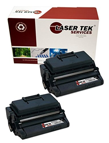 Laser Tek Services® 2 pack Xerox 106R01149 Black High Yield Remanufactured Replacement Toner Cartridges for the Xerox Phaser 3500, Phaser 3500B, Phaser 3500DN, Phaser 3500N