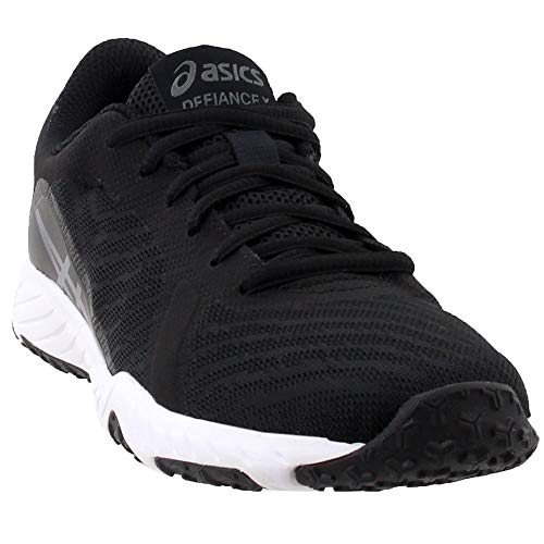 ASICS Womens Defiance X Cross Trainer, Black/Carbon/White, 8.5 Medium US (Best Trainers For Cross Training)