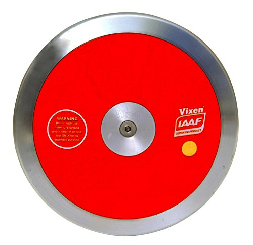 VIXEN Salut Spin Discus Compétition en rouge, Throw Sporting Goods