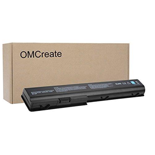 OMCreate Laptop battery for HP Pavilion GA08 480385-001 KS525AA HSTNN-IB75 HSTNN-DB75 HSTNN-C50C HSTNN-OB75 516355-001 486766-001 464059-142 464059-141 - 12 Months Warranty [Li-ion 8Cells]