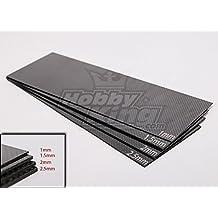 Woven Carbon Fiber Sheet 300x100 (1.0MM Thick)