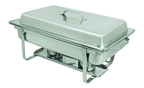 Update International SCC-19 Oblong Stackable Chafer 8 QT