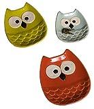 OWL Plates - Set of Three