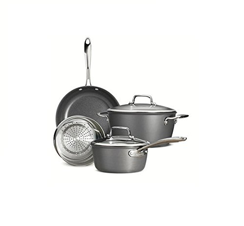 Tramontina 6-Piece Gourmet Hard Anodized Non-stick Cookware Set