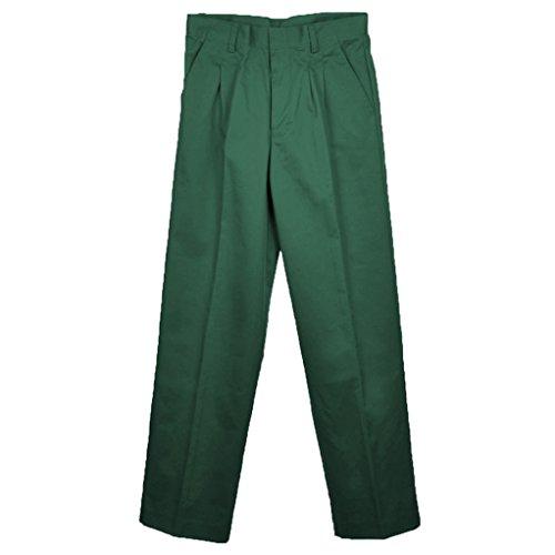 - Universal School Uniforms Boys Pleated Pant 3T Hunter Green