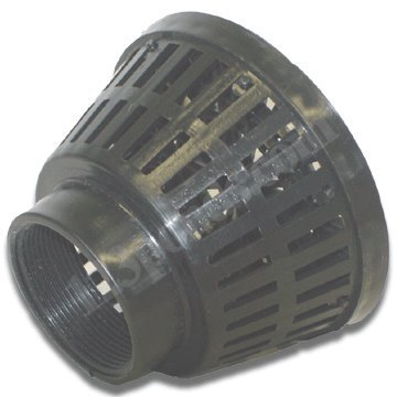 1-1/2 Fpt Polypropylene Intake Screen Green Leaf Inc Drains and Strainers by H2o ()