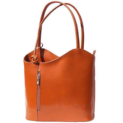 (LaGaksta Easy Carry Backpack Purse Tan Cognac)