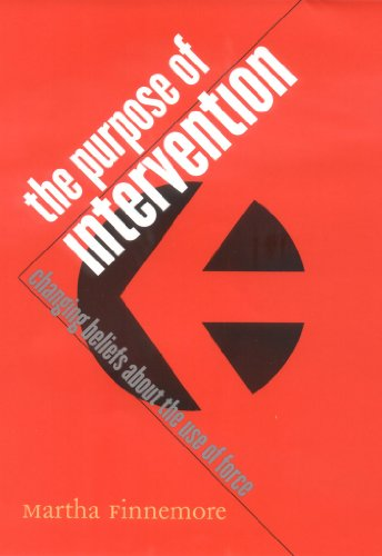 The Purpose of Intervention: Changing Beliefs about the...