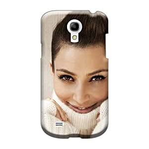 Shock Absorbent Hard Phone Cover For Samsung Galaxy S4 Mini With Allow Personal Design High-definition Kim Kardashian Pattern KimberleyBoyes
