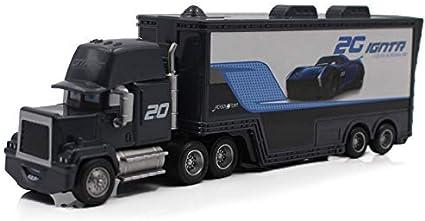 Amazon Com Pixar Cars 3 Toys Lightning Mcqueen Jackson Storm Mack