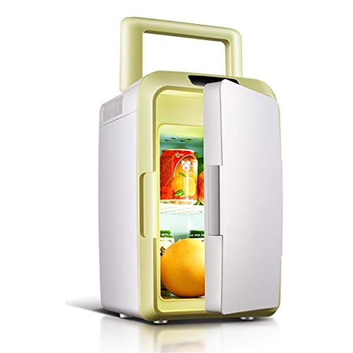 - JGWJJ Mini Fridge| 12L Electric Cooler and Warmer Compact Refrigerator| AC/DC Portable Thermoelectric System| for Car, Outdoor, Office, Dorm, Apartment