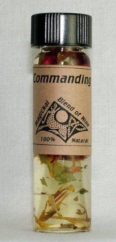 Commanding Magickal Oil (Oil Magickal Blend)