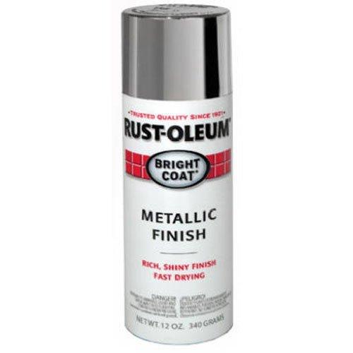 Rust-Oleum 7715830 Spray Paint, Aluminum, 11 oz. Automotive Accessories, Each, Aluminium