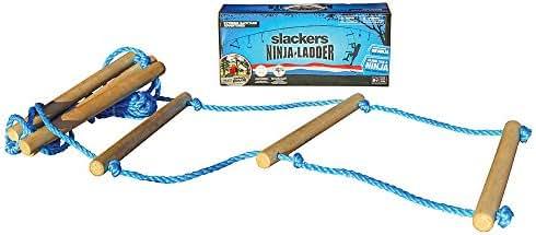 Slackers NinjaLine Rope Ladder, Blue, 8'