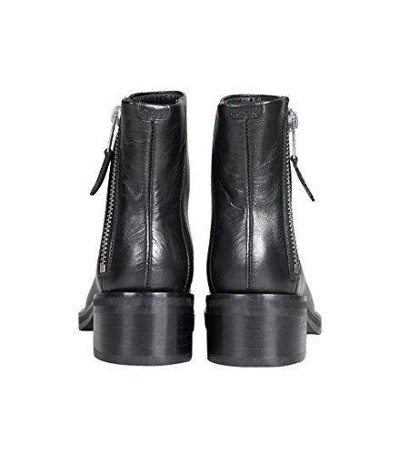 Royal District Schuhe Zip RepubliQ Damen in Boot Schwarz AFAw8qr