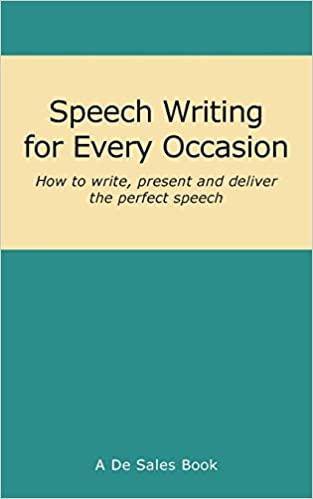 Amazon Fr Speech Writing For Every Occasion De Sales