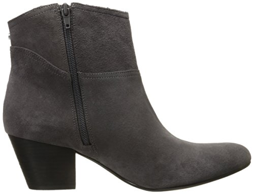Nine West mujer Hannigan Suede Ankle Bootie Gris oscuro