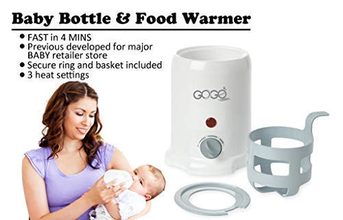 Baby and Food Warmer - Only 3 to 4 Upgraded Heating System, Free, NO Hot at Amazon!