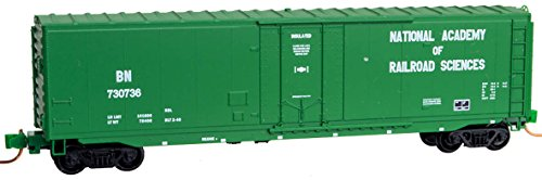 Micro-Trains MTL N-Scale 50' Box Car Burlington Northern/BN (Green) NARS #73076