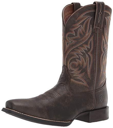 - Ariat Men's Sport Herdsman Western Boot, Brooklyn Brown, 11.5EE