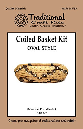 Coiled Basket Kit Oval Style