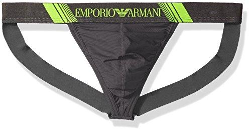 Emporio Armani Men's Training Jockstrap, Dark Grey, M by Emporio Armani