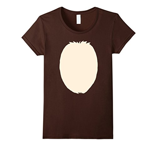 Womens Christmas Reindeer Halloween Costume DIY Idea T-Shirt XL Brown - Ideas For Halloween Costumes Diy