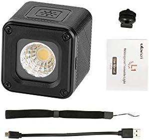 Docooler Ulanzi L1 Mini LED Lumière Vidéo 5500K Lumière de Remplissage Etanche pour Canon Nikon DSLR pour GoPro Hero Série Action Camera pour Smartphone Adventure Lighting pour Yuneec Drones