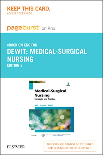 Medical-Surgical Nursing - Elsevier eBook on Intel Education Study (Retail Access Card): Concepts & Practice, (Stromberg Printed)