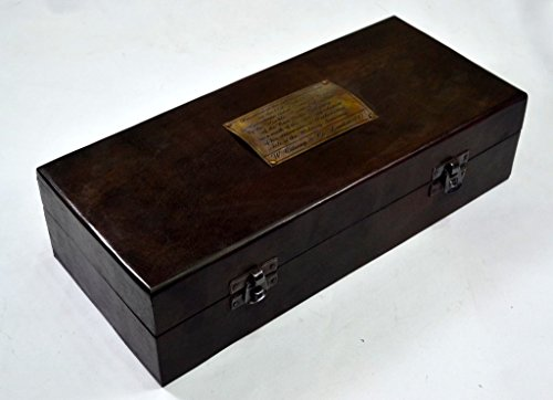 Brass Nautical Vintage Table Telecope in Wood gift Box