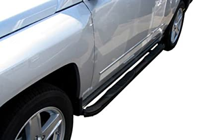 2017 Toyota Tacoma Running Boards >> Steelcraft 230900 2005 2017 Toyota Tacoma Double Cab 3 Sidebars Black Side Step Nerf Bar Running Board