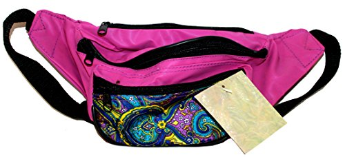 Harvey J Pink and Paisley Fanny Pack -
