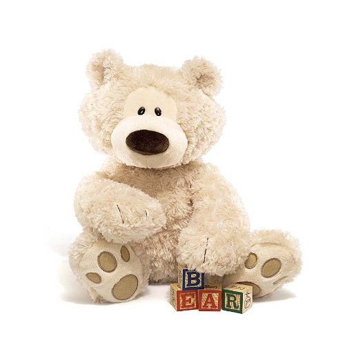 GUND Philbin Teddy Bear Stuffed Animal Plush, Beige, (Bear Teddy Bear)