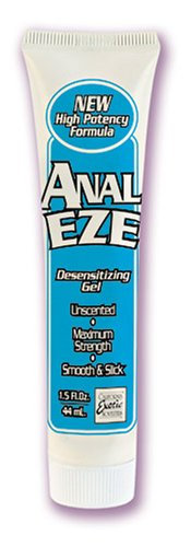 California Exotic Novelties Anal Eze Gel, 1.5 Fluid Ounces (Pack of 4), Health Care Stuffs