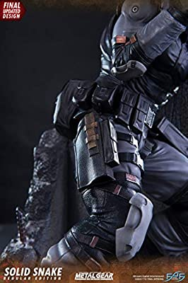 First 4 Figures Estatua Solid Snake 44 cm. Metal Gear Solid ...